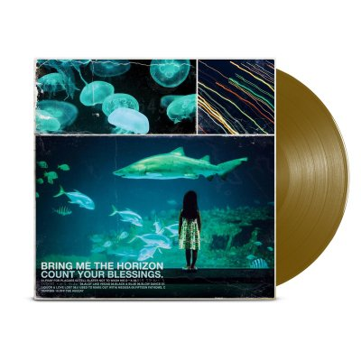 Bring Me The Horizon - Count Your Blessings LP (Metallic Gold)