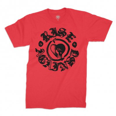 rise-against - HeartFist Stamp Tee (RED)