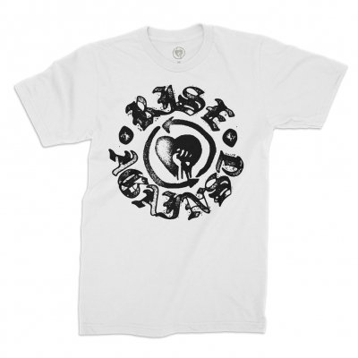 rise-against - HeartFist Stamp Tee (White)