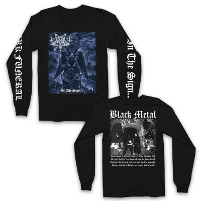dark-funeral - In The Sign Longsleeve (Black)
