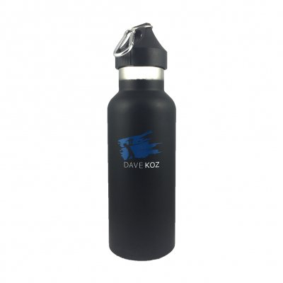 dave-koz - Blue Stroke Sax Man Water Bottle