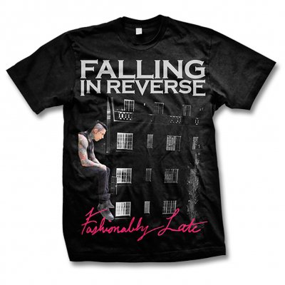 Falling In Reverse - Fashionably Late Album Shirt - Mens