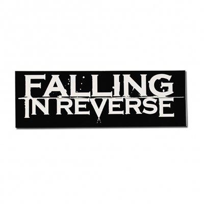 """Falling In Reverse - FIR Logo Sticker (3"""" x 9"""") - Sticker"""