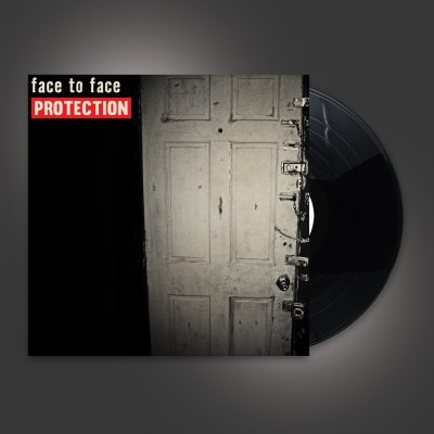 face-to-face - Protection LP (Black)