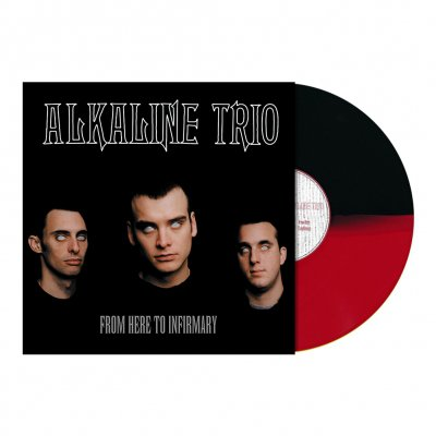 alkaline-trio - From Here To Infirmary LP (Red/Black)
