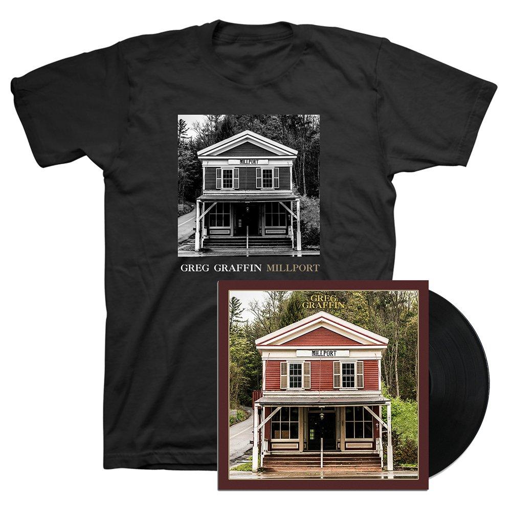 IMAGE | Millport LP (Black) & Cover T-Shirt (Black)