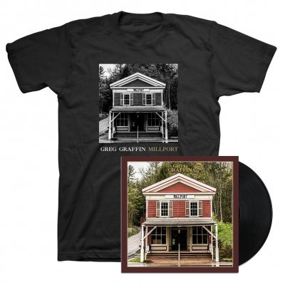 Greg Graffin - Millport LP (Black) & Cover T-Shirt (Black)