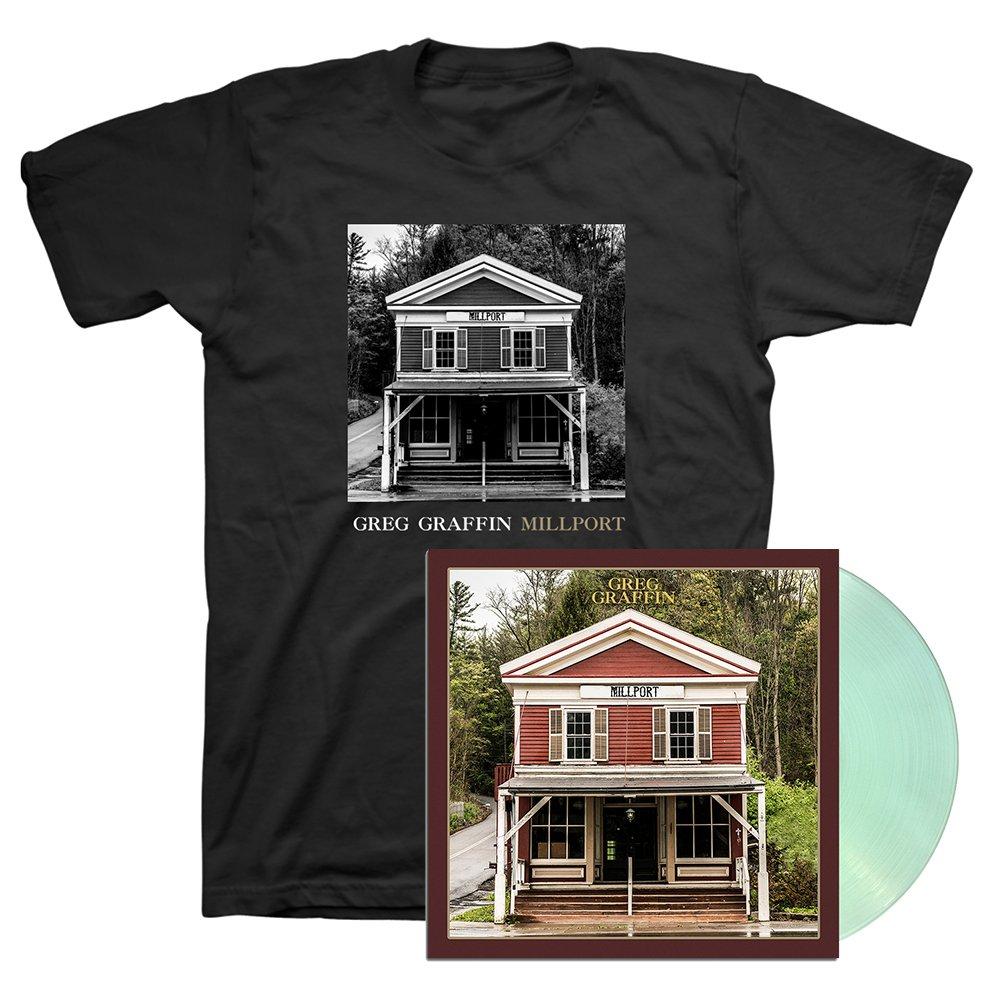 IMAGE | Millport LP (Coke Bottle Clear) & Cover T-Shirt (Black)