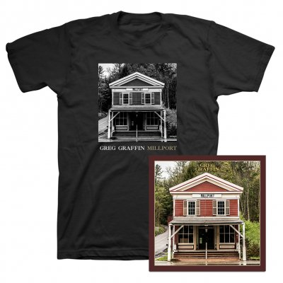 Greg Graffin - Millport CD & Cover T-Shirt (Black)