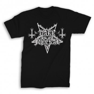 dark-funeral - Logo T-Shirt (Black)