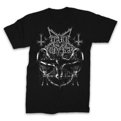 valhalla - Crucified T-Shirt (Black)