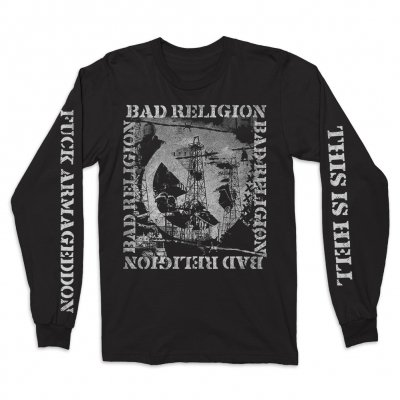 bad-religion - This Is Hell Long Sleeve Tee (Black)