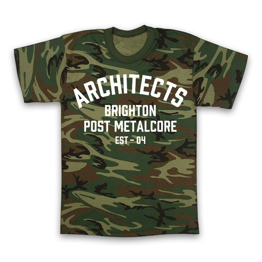 Brighton Post Metalcore T-Shirt (Camo)