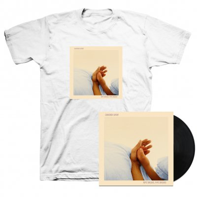 anti-records - Ripe Dreams, Pipe Dreams LP (Black) & Cover T-Shirt (White)