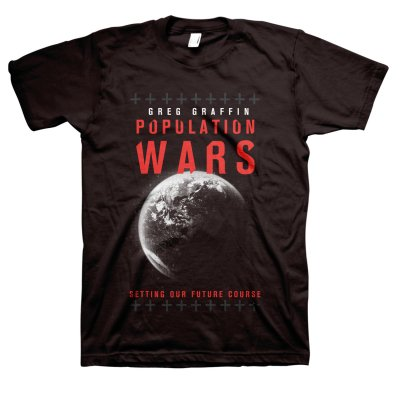greg-graffin - Population Wars T-Shirt (Black)