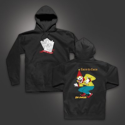 face-to-face - Joker Pullover Hoodie (Black)