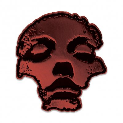 converge - Jane Doe Enamel Pin (Metallic Red)