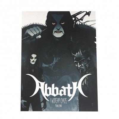 Abbath - I Worship Chaos Tour Print