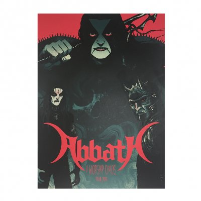 abbath - I Worship Chaos Tour Print - Variant