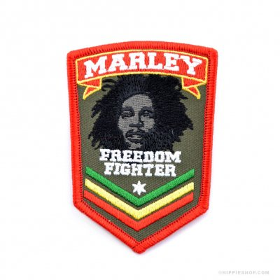 Bob Marley - Fighter Patch