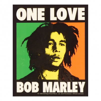 Bob Marley - One Love Patch