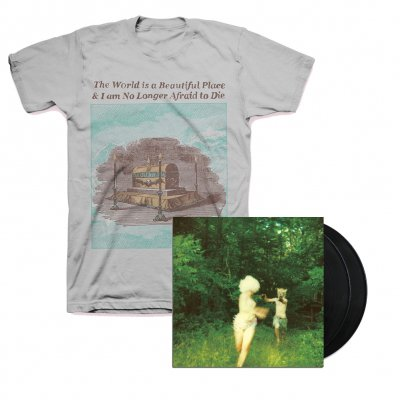 The World Is A Beautiful Place & I Am No Longer Afraid To Die - Harmlessness LP (Black) + Casket Tee Bundle