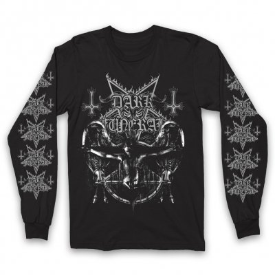 dark-funeral - Crucified Longsleeve T-Shirt (Black)