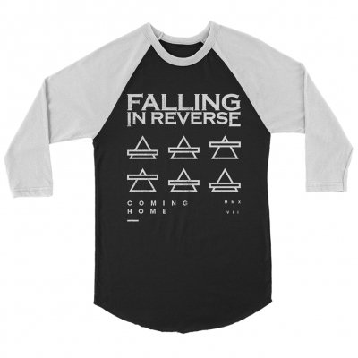 falling-in-reverse - Triangles Baseball Tee (Black)