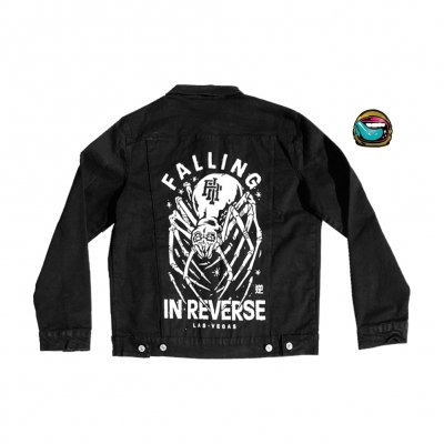Falling In Reverse - Crawler Denim Jacket (Coming Home Version)