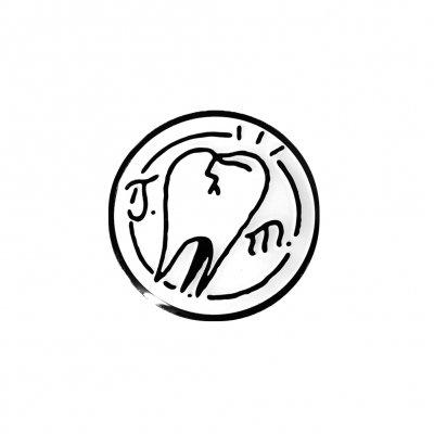 joyce-manor - Tooth Logo Enamel Pin