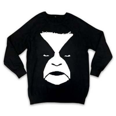 Abbath Knit Sweater (Black)