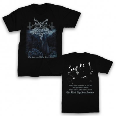 valhalla - The Secrets of The Black Arts T-Shirt (Black)