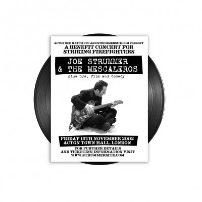 Joe Strummer & The Mescaleros - Live at Acton Town Hall LP (Black)