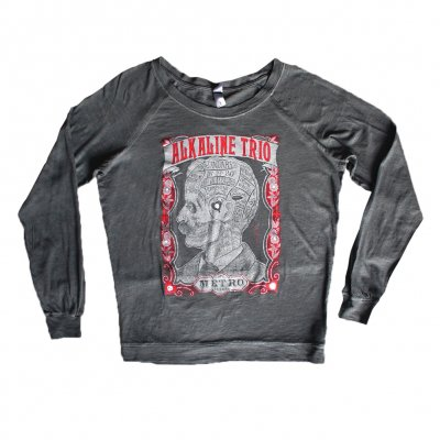 alkaline-trio - Womens Metro 2017 Washed Long sleeve