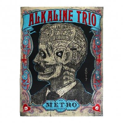 alkaline-trio - Metro 2017 Print