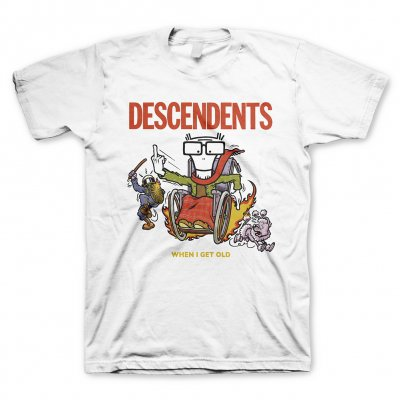 descendents - When I Get Old Tee (White)