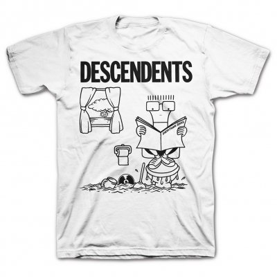 descendents - Everything Sucks Full Art T-Shirt (White)