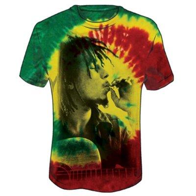 Bob Marley - Smoke Tie Dye Tee