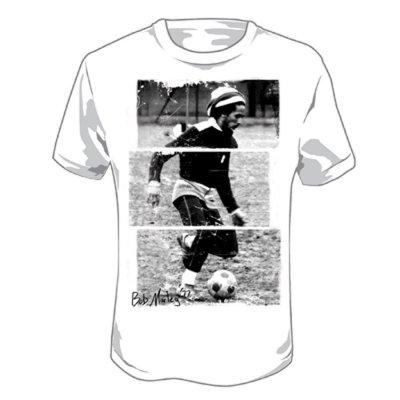 Bob Marley - Soccer '77 T-Shirt (White)