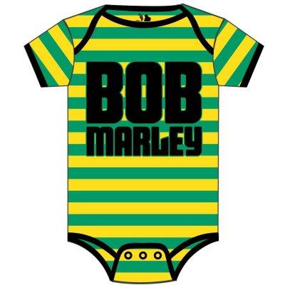 Bob Marley - Jamaica Stripe Onesie