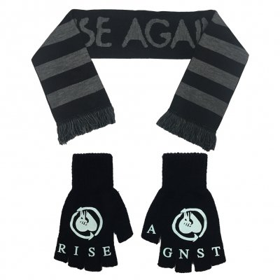 rise-against - Heartfist Scarf and Gloves Bundle