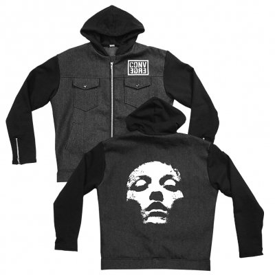 converge - Jane Doe Denim and Fleece Jacket