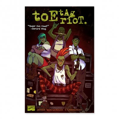 black-mask-studios - Toe Tag Riot Vol. 1