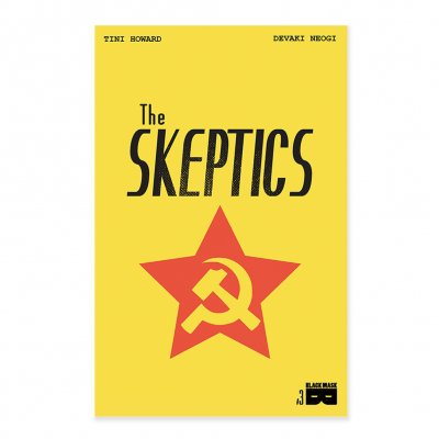 Black Mask Studios - THE SKEPTICS - Issue 3