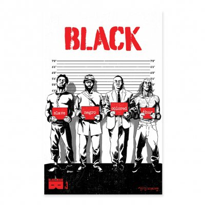 black-mask-studios - BLACK - Issue 3 Censored Cover