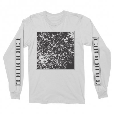 Clipping - Tape Long Sleeve T-Shirt (White)