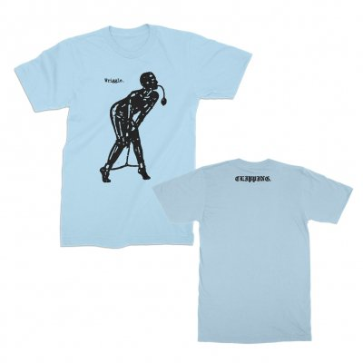 clipping - Wriggle T-Shirt (Light Blue)