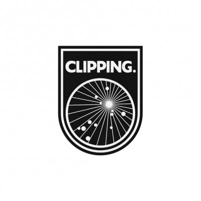 Clipping - Splendor & Misery Logo Sticker