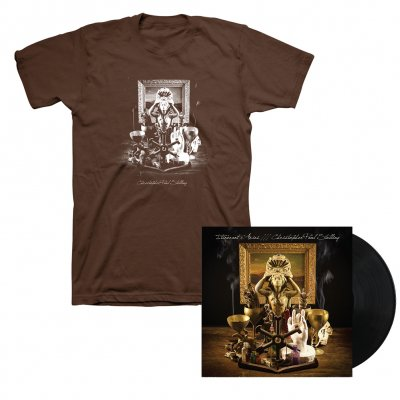 Christopher Paul Stelling - Itinerant Arias LP (Black) + T-Shirt (Brown)