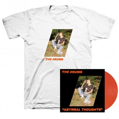 The Drums - Abysmal Thoughts LP (Orange) + T-Shirt (White)